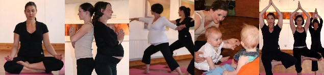 Pregnancy Yoga Classes With Julie